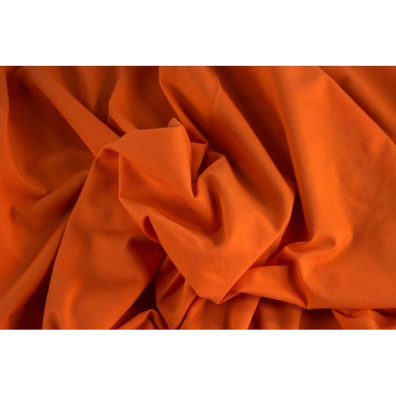 Gitte orange (424) Stretchjersey, 220g/m²