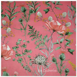 Gütermann, Wiesenblumen rosa/pink, Natural Beauty,...